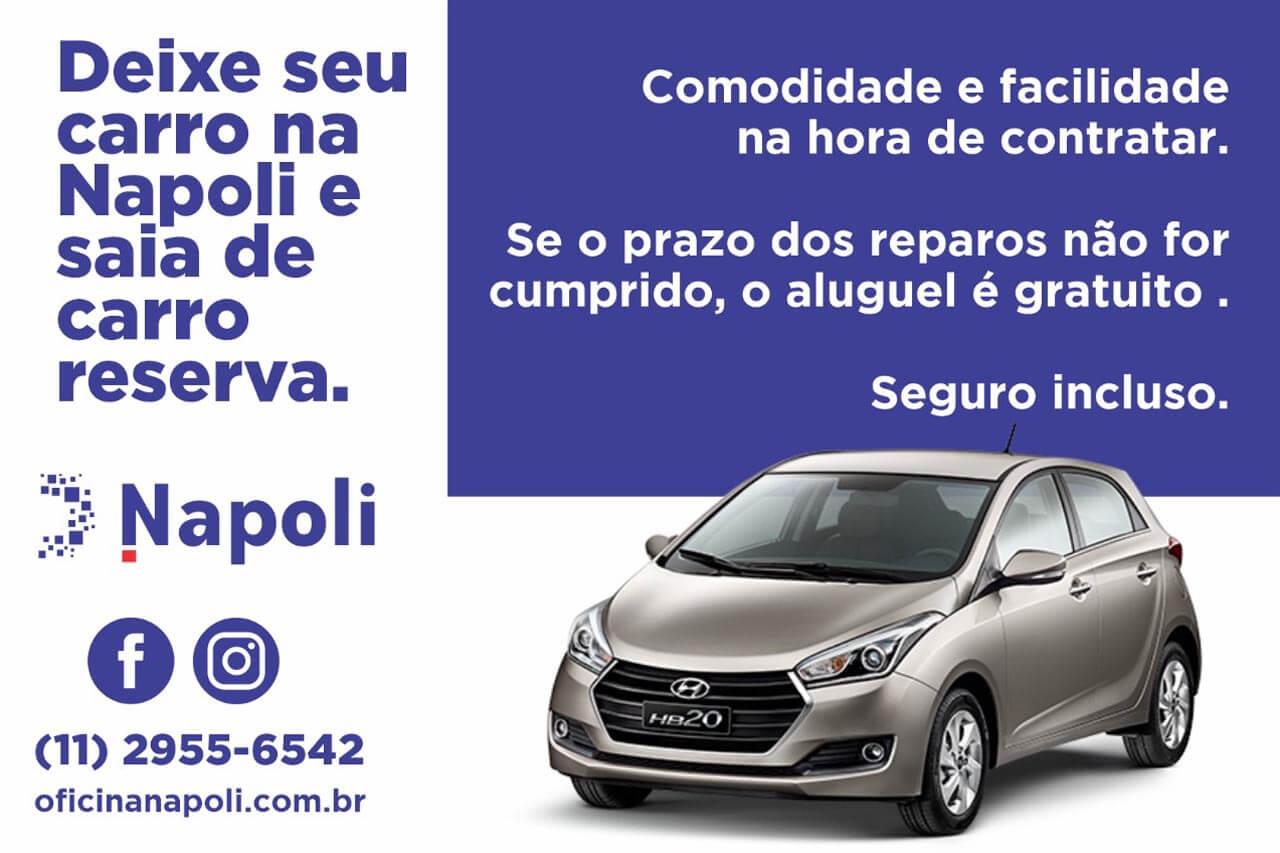 Deixe seu Carro na Napoli e saia de carro reserva!